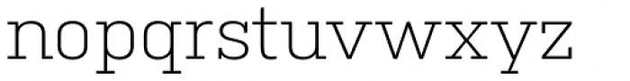 Kulturista Light Font LOWERCASE