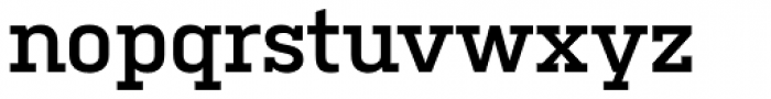 Kulturista SemiBold Font LOWERCASE