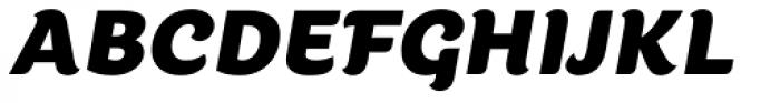 Kumiz FY Italic Font UPPERCASE