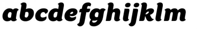 Kumiz FY Italic Font LOWERCASE