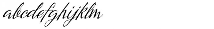Kumma Condensed Italic Font LOWERCASE