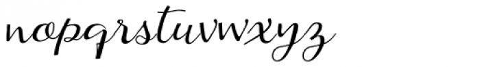 Kumma Font LOWERCASE