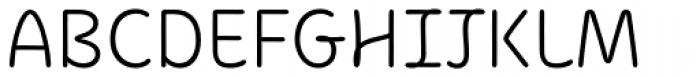 KunKun Light Font UPPERCASE