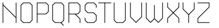 Kunst 24 Thin Font UPPERCASE