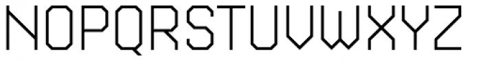 Kunst 48 Light Font UPPERCASE