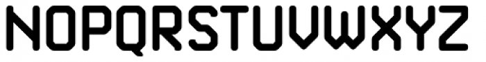 Kunst Rounded 120 Bold Font UPPERCASE