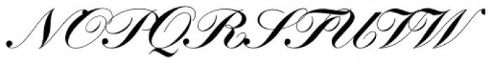 Kunstlerschreibschrift D Bold Font UPPERCASE