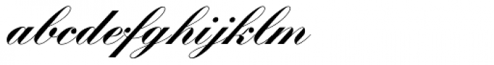 Kunstlerschreibschrift D Bold Font LOWERCASE