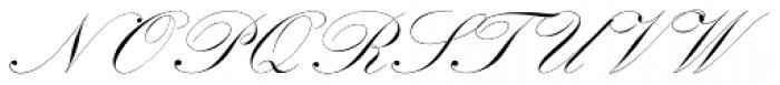 Kunstlerschreibschrift D Medium Font UPPERCASE