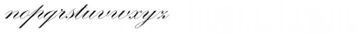 Kunstlerschreibschrift D Medium Font LOWERCASE