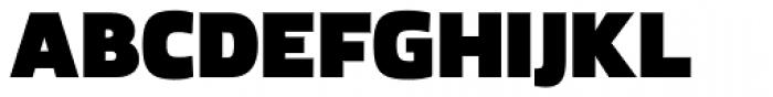 Kuro Black Font UPPERCASE