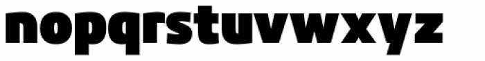 Kuro Black Font LOWERCASE