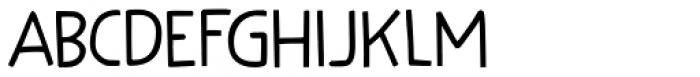 Kuroneko Kaps Regular Font LOWERCASE