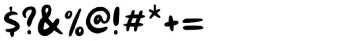 Kuroneko Regular Font OTHER CHARS