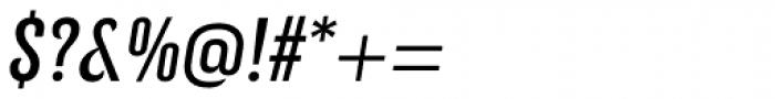 Kurry Eco Italic Font OTHER CHARS