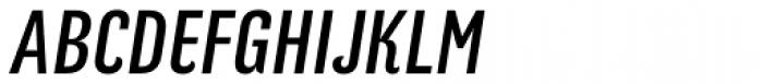 Kurry Eco Italic Font UPPERCASE