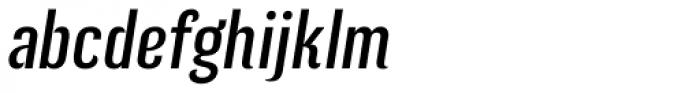 Kurry Eco Italic Font LOWERCASE