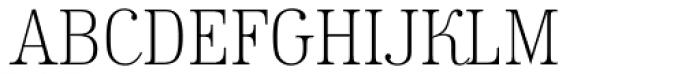 Kursivschrift Stehend Haar Font UPPERCASE