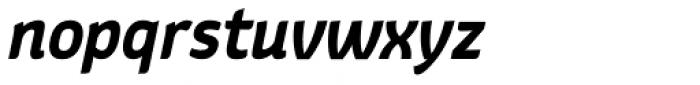Kurstiva Bold Italic Font LOWERCASE