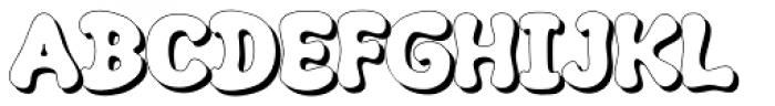 Kush Shade Font UPPERCASE