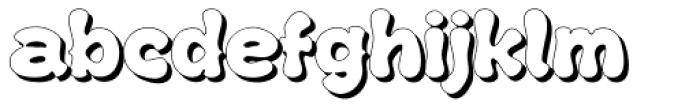 Kush Shade Font LOWERCASE