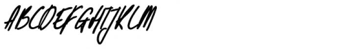 Kusukusu Bold Italic Font UPPERCASE