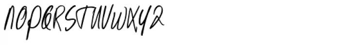 Kusukusu Font UPPERCASE