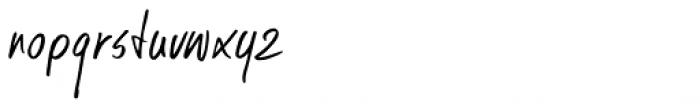Kusukusu Font LOWERCASE