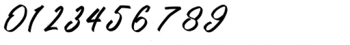 Kutharock Italic Font OTHER CHARS