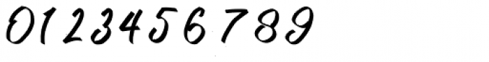 Kutharock Regular Font OTHER CHARS