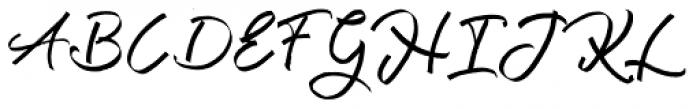 Kutharock Regular Font UPPERCASE