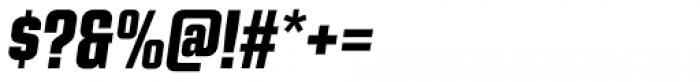 Kuunari Black Condensed Italic Font OTHER CHARS