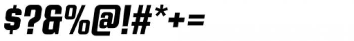 Kuunari Black Italic Font OTHER CHARS