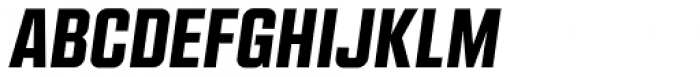 Kuunari Black Italic Font UPPERCASE