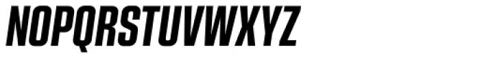 Kuunari Bold Compressed Italic Font UPPERCASE