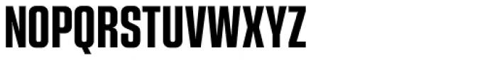 Kuunari Bold Compressed Font UPPERCASE