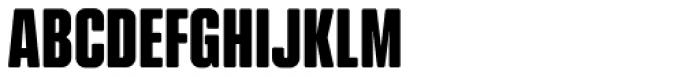 Kuunari Rounded Black Compressed Font UPPERCASE