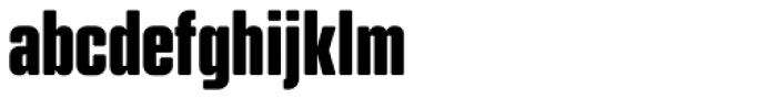Kuunari Rounded Black Compressed Font LOWERCASE