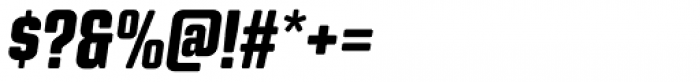 Kuunari Rounded Black Condensed Italic Font OTHER CHARS