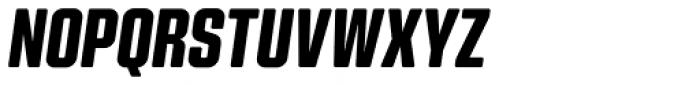 Kuunari Rounded Black Condensed Italic Font UPPERCASE