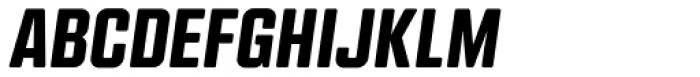 Kuunari Rounded Black Italic Font UPPERCASE