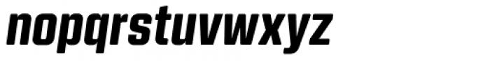 Kuunari Rounded Black Italic Font LOWERCASE