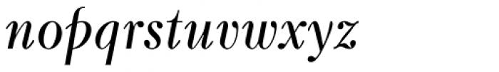 Kuzanyan Italic Font LOWERCASE