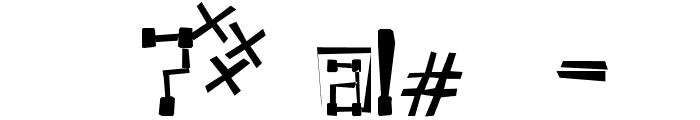 KVADRO- RANDOM Font OTHER CHARS