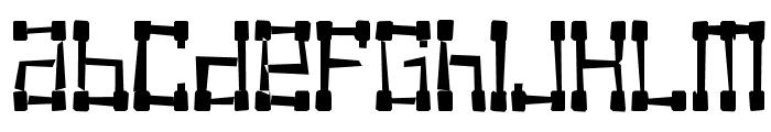KVADRO- RANDOM Font LOWERCASE