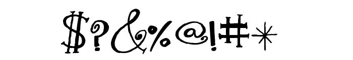 Kwekel Font OTHER CHARS