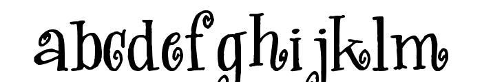 Kwekel Font LOWERCASE