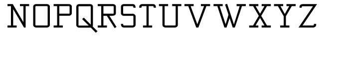Kwersity Wider Bold Font UPPERCASE