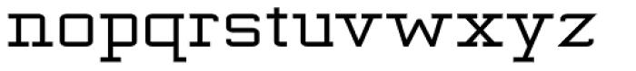 Kwersity Wider Bold Font LOWERCASE