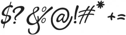 Kylets otf (400) Font OTHER CHARS